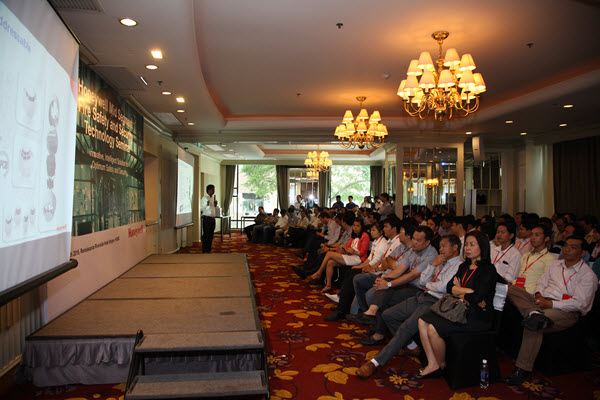 Honeywell Vietnam introduced intelligent security solutions for buildings at Renaissance Riverside Saigon Hotel on March 3, 2016.